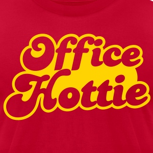 office hottie (could be NSFW) T-Shirts - Men's T-Shirt by American Apparel