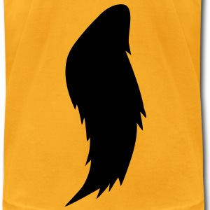 werewolf horse tail T-Shirts - Men's T-Shirt by American Apparel