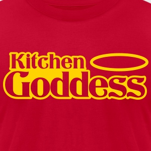 kitchen goddess T-Shirts - Men's T-Shirt by American Apparel