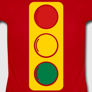 traffic lights red amber and green Baby Bodysuits - Short Sleeve Baby Bodysuit