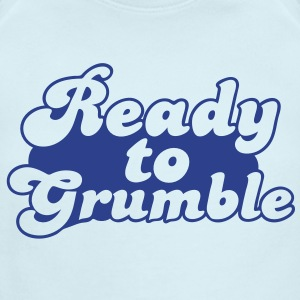 ready to grumble  Baby Bodysuits - Short Sleeve Baby Bodysuit