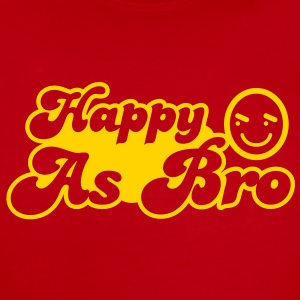Happy As Bro - it's all good! Baby Bodysuits - Short Sleeve Baby Bodysuit