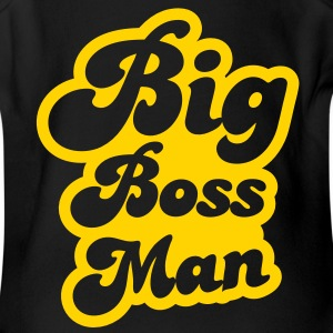 big boss man! Baby Bodysuits - Short Sleeve Baby Bodysuit