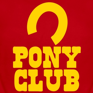 PONY CLUB with horseshoe Baby Bodysuits - Short Sleeve Baby Bodysuit