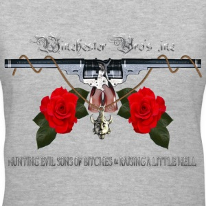 Winchester Bros hunting evil sons of bitches N rai Women's T-Shirts - Women's V-Neck T-Shirt