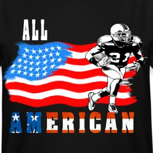 All American Football player 3 T-Shirts - Men's Tall T-Shirt