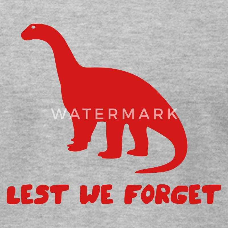 Gray Lest We Forget Men - Men's T-Shirt by American Apparel