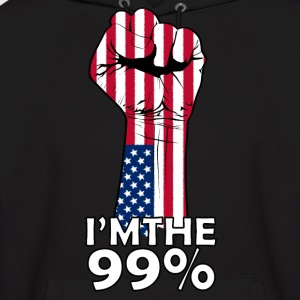 I'm The 99% - Men's Hoodie