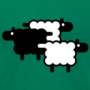 Black Sheep T-Shirts - Men's T-Shirt by American Apparel
