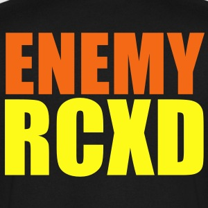 ENEMY RCXD T-Shirts - Men's V-Neck T-Shirt by Canvas