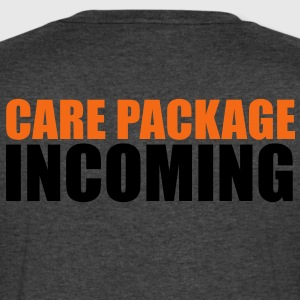 CARE PACKAGE INCOMING T-Shirts - Men's V-Neck T-Shirt by Canvas
