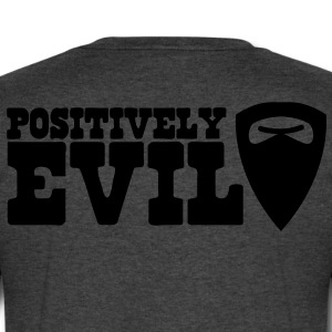 positively evil GOATEE T-Shirts - Men's V-Neck T-Shirt by Canvas