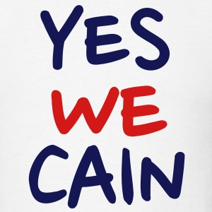 Yes we Cain T-Shirts - Men's T-Shirt