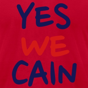 Yes we Cain T-Shirts - Men's T-Shirt by American Apparel