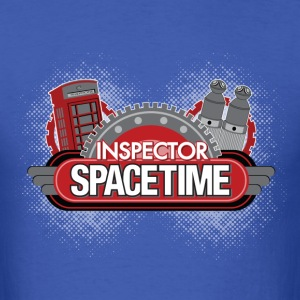 Inspector Spacetime Blogon Edition - Men's T-Shirt