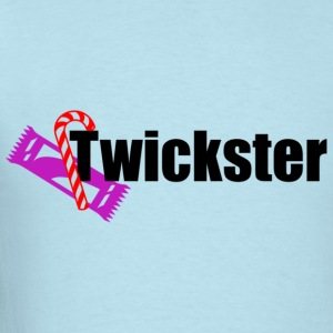 twickster_pixel_white T-Shirts - Men's T-Shirt