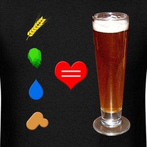 Beer Love T-Shirts - Men's T-Shirt
