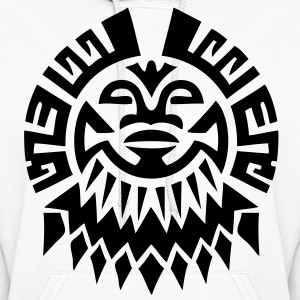$ Mayan Tribal Face VECTOR Hoodies - Women's Hoodie