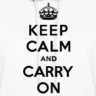 Design ~ Keep Calm and Carry On Ladies Sweatshirt