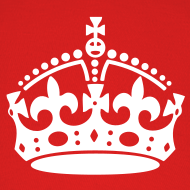 Design ~ Keep Calm and Carry On Crown