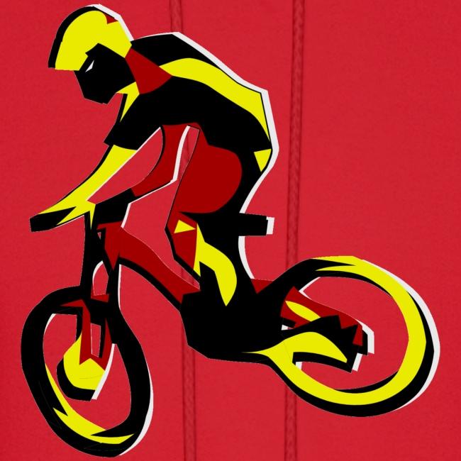 Mountain Bike Hoodie - What's Up Dawg?