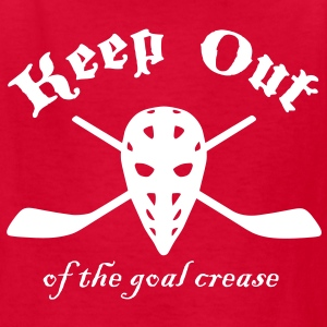Keep Out (Of The Goal Crease) Kids' Shirts - Kids' T-Shirt