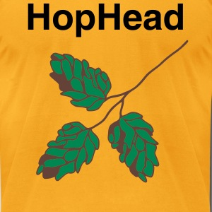 HopHead - Men's T-Shirt by American Apparel