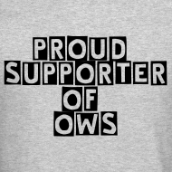 Design ~ Proud Supporter OWS Men's Sweater Grey