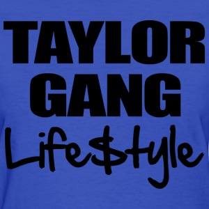 Taylor Gang Lifestyle Women's T-Shirts - stayflyclothing.com  - Women's T-Shirt