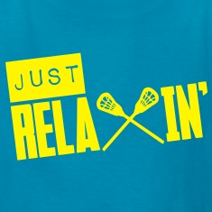 Just Relaxin' (Lacrosse) Kids' Shirts