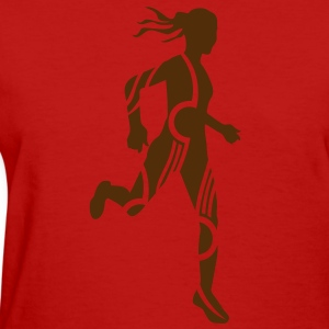 Cross country tribal female Women's T-Shirts - Women's T-Shirt