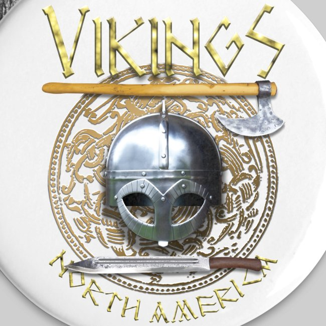 Vikings North America Small Buttons