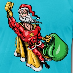 Super Santa Claus T-Shirts - Men's T-Shirt by American Apparel