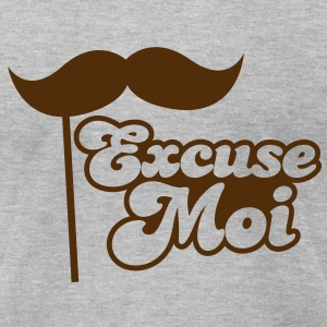 Excuse Moi T-Shirts - Men's T-Shirt by American Apparel