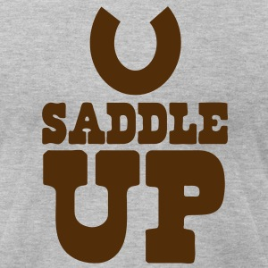 SADDLE UP T-Shirts - Men's T-Shirt by American Apparel