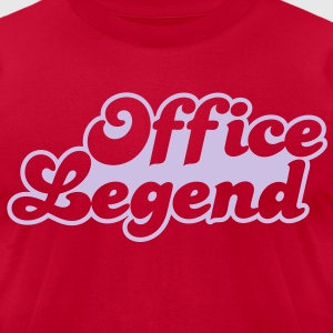office legend T-Shirts - Men's T-Shirt by American Apparel