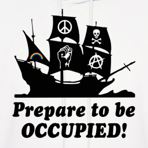 Prepare to be Occupied Pirate Hoodies - Men's Hoodie