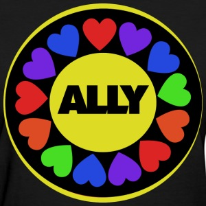 Gay rights Str8 Ally - Women's T-Shirt