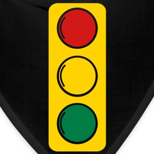 traffic lights red amber and green Caps - Bandana