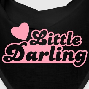 little darling with cute little love heart Caps - Bandana