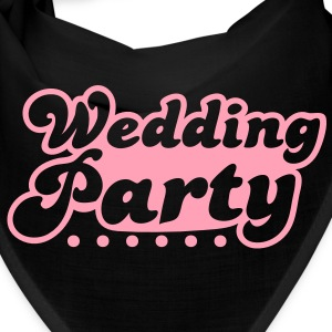wedding party in pink Caps - Bandana