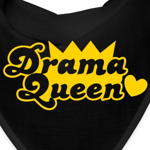 drama queen with love heart Caps - Bandana