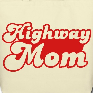 highway mom Bags  - Eco-Friendly Cotton Tote