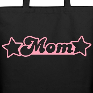 mom with stars Bags  - Eco-Friendly Cotton Tote