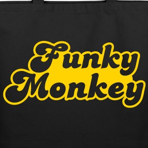 funky monkey Bags  - Eco-Friendly Cotton Tote