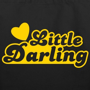 little darling with cute little love heart Bags  - Eco-Friendly Cotton Tote