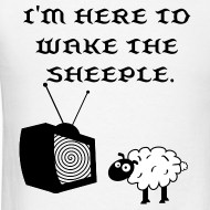 Design ~ Wake the Sheeple (Customizable) Men's