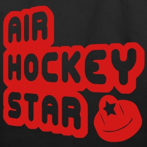 Air Hockey Star Bags  - Eco-Friendly Cotton Tote