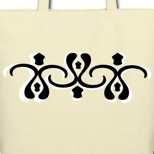 unique cool shapes pattern vector graphic art Eco-Friendly Cotton Tote - Eco-Friendly Cotton Tote