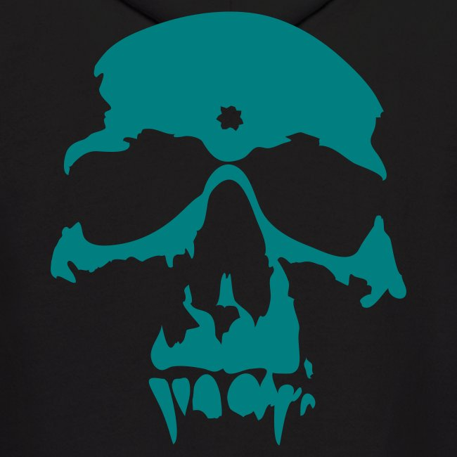 The Gang Without A Name - Black and Teal Hoodie - Swag Skull